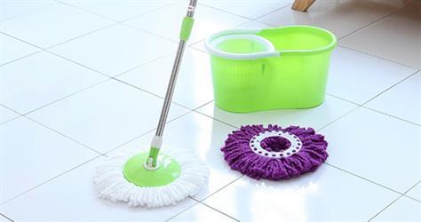핸드스핀 물걸레청소기(탈수기+밀대+걸레2) 세탁과 청소가 쉬워진다