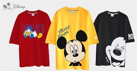 디즈니 정품 오버핏 여름 반팔티셔츠