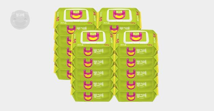 방그레 라이트 캡형 100매 20팩