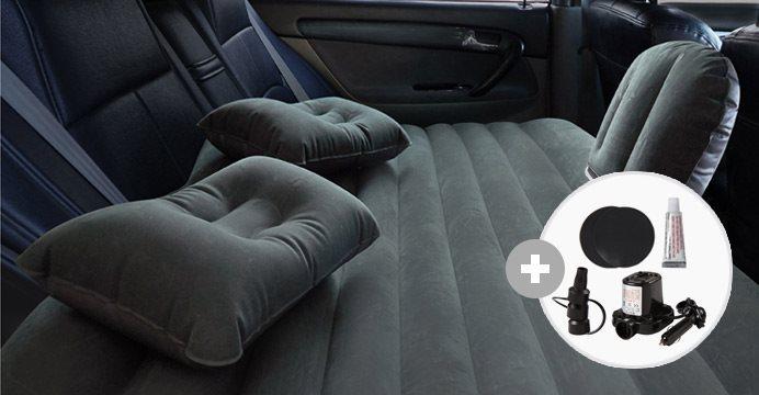차량용 뒷자석 에어매트+공기주입 전동펌프
