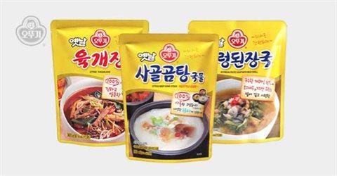 오뚜기 옛날 육개장/곰탕/감자탕/삼계탕