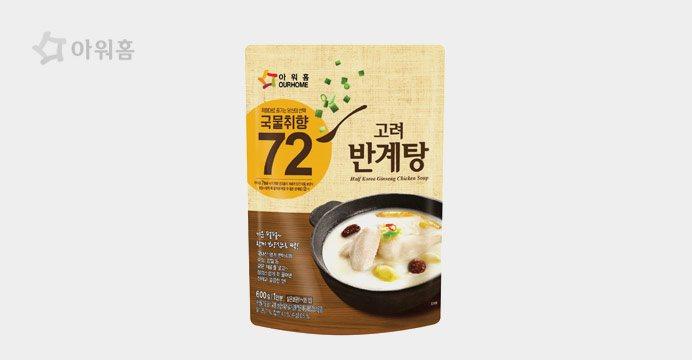 고려삼계탕(반마리)600g