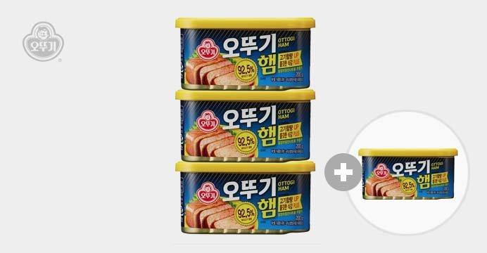 오뚜기햄 통조림 200g 3캔+1캔 무료 증정!