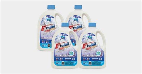 엑켈란 액체세제 2.5L 4개 (일반/드럼)