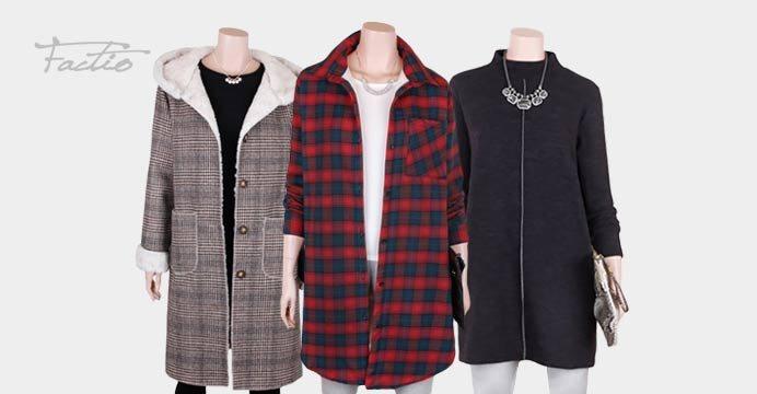 팍티오 기모티셔츠/양털 아우터 겨울준비