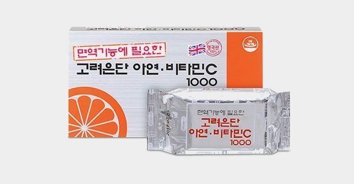 고려은단 아연 비타민c 1000 150정