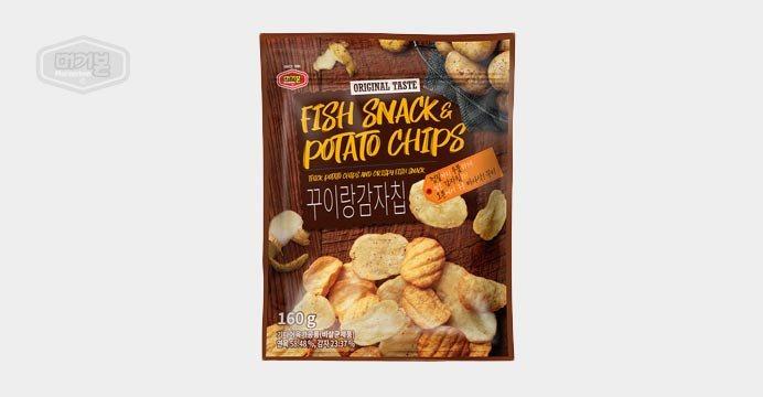 무료배송! 꾸이랑감자칩160g