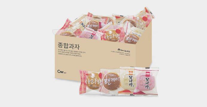 종합과자 모나카+그랑쉘+팬케이크