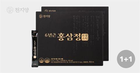 천지양 6년근 홍삼정 로얄스틱 30포 1+1