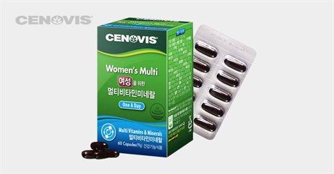 세노비스 여성 멀티비타민(60캡슐/60일분)