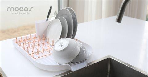 물빠짐 그릇 접시 식기건조대 플랫