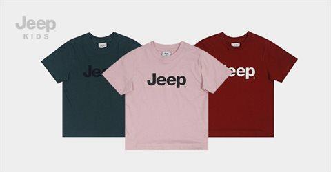 지프키즈 1+1 기본큰JEEP반팔 티셔츠