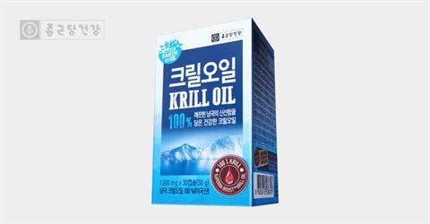 종근당건강 어스투어스 크릴오일 30캡슐