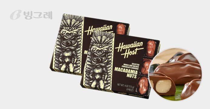 빙그레 하와이안 마카다미아 초콜렛1+1