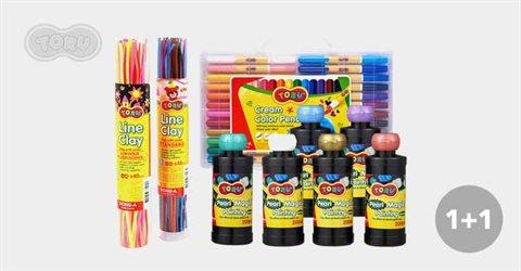 1+1 토루,색연필,파스넷 모음전