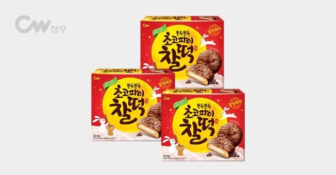 초코파이찰떡 258g 3박스