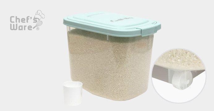 BPA Free!바퀴달린 쌀통 10kg(+계량컵)