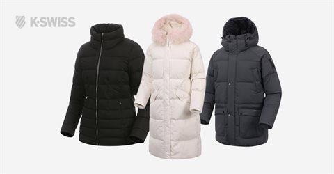 르카프/케이스위스 따뜻한 겨울 덕다운패딩