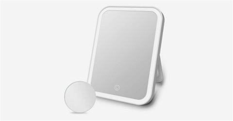 휴대용 접이식 LED 메이크업 거울