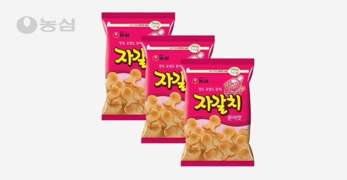 농심 자갈치(지퍼 대) 286g 3봉