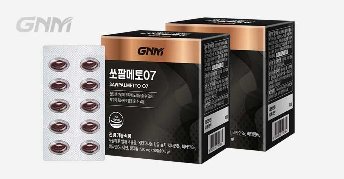 [GNM자연의품격]전립선 건강 쏘팔메토2박스