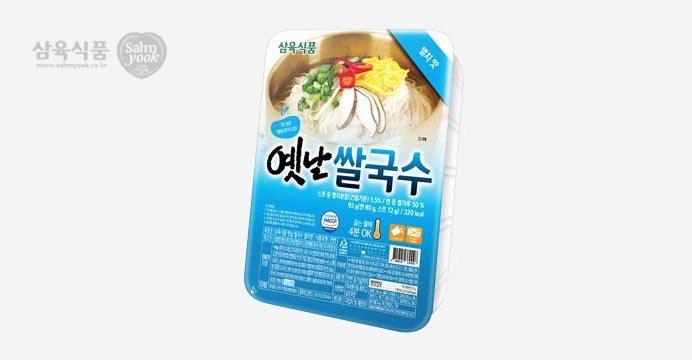 삼육 옛날쌀국수 멸치맛 10개 /쿠폰 9,330