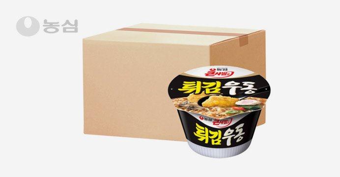 농심 튀김우동큰사발 16개