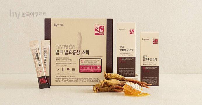 발휘 발효홍삼 스틱 10mlX30포+10%쿠폰