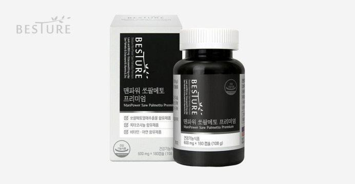 베스처 맨파워 쏘팔메토 프리미엄 6개월분