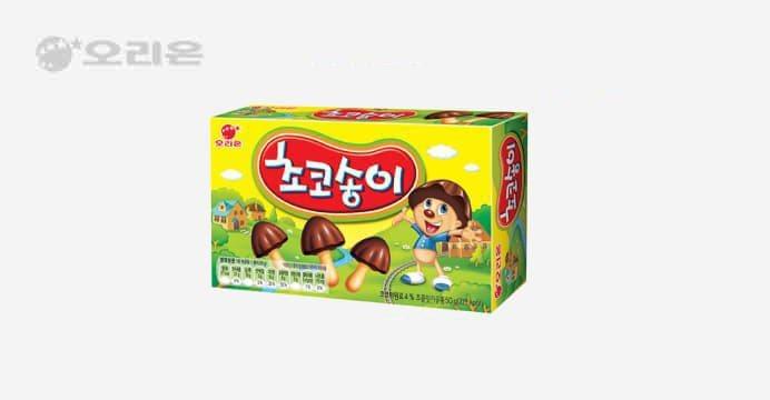 초코송이 50gx24개(박스)