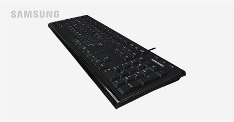 삼성 가성비 유선키보드 USB 연결방식