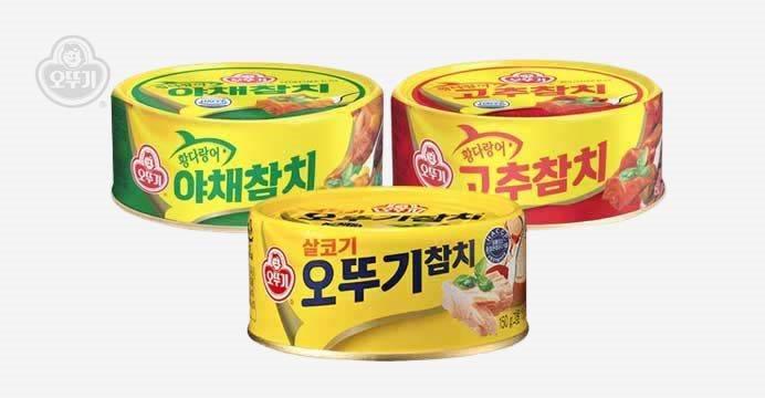 오뚜기 참치 살코기/야채/고추 12캔