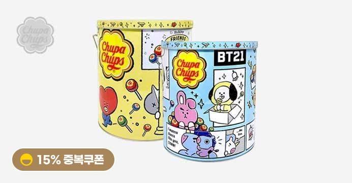 츄파춥스 Bt21 100입(캔) 1개
