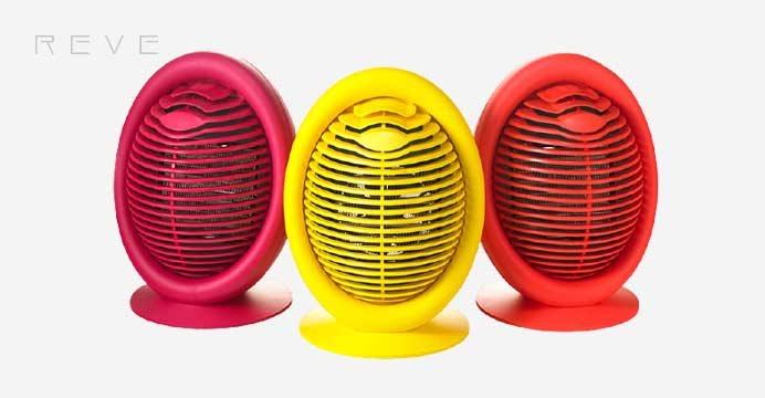 레브 미니온풍기 전기히터