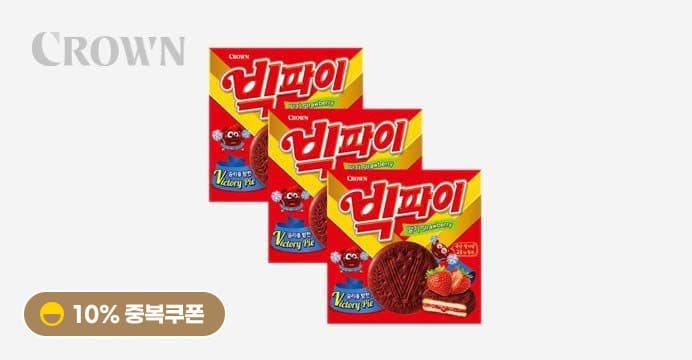 빅파이 딸기324g(18봉) 3박스