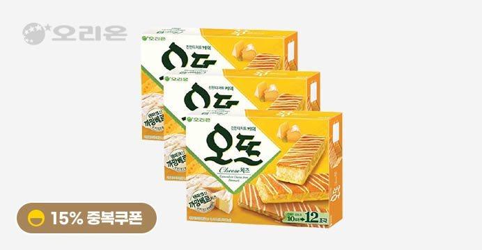 오뜨 치즈/쇼콜라 12P x3박스