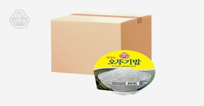 오뚜기 맛있는밥 1박스