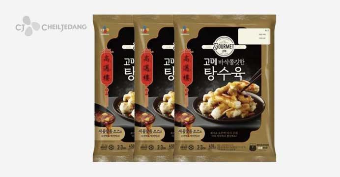 고메 바삭쫄깃한 탕수육 450g 3봉