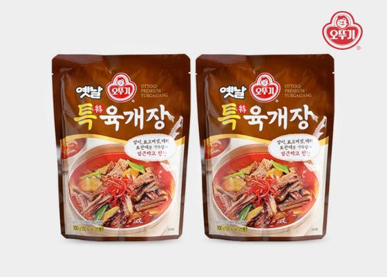 [단독 판매] 오뚜기 옛날 특 육개장 500g 2개