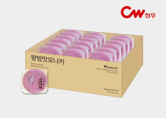 [단독판매] 왕밤 모나카 1박스(27개입)