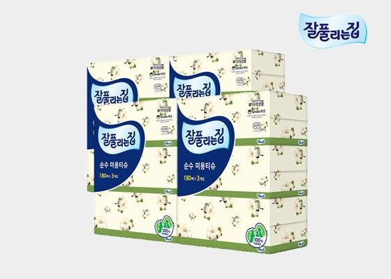 [단독 판매] 순수 미용티슈 180매 12개