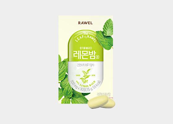[로엘] 레몬밤 정 500mgx30 1+1박스 2개월