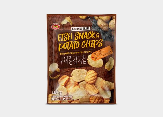 꾸이랑감자칩 160g 무료배송