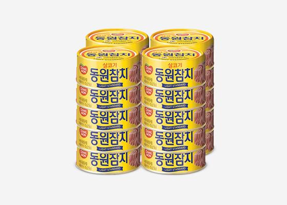 [동원] 라이트 스탠다드 참치 100g * 20캔