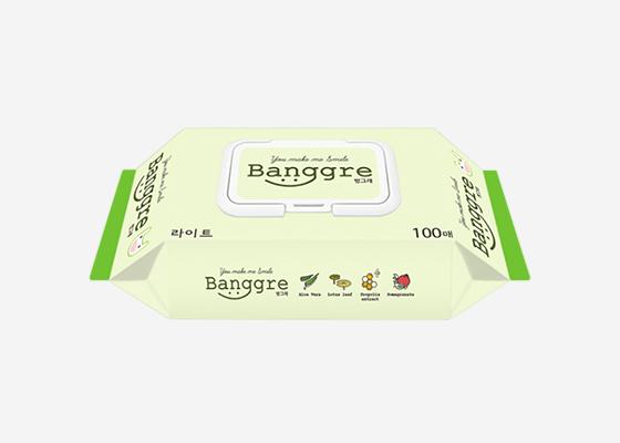 방그레 물티슈 캡형 100매*20팩