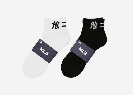MLB 남성 스포츠양말 넥투라인 단목 5족