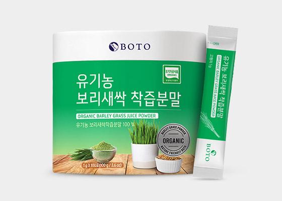 유기농 새싹보리 착즙분말 스틱100포