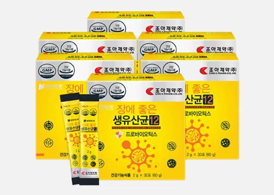 조아제약 생유산균 30포 6박스