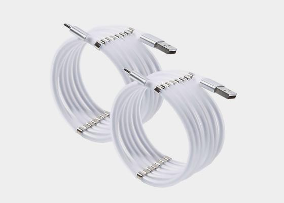 마그네틱 고속충전케이블 1.8m 8핀 C핀 1+1