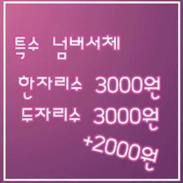 축구복/축구유니폼/마킹/넘버서체/선수서체 동일